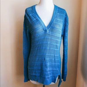 Michael Kors Cotton V neck Sweater